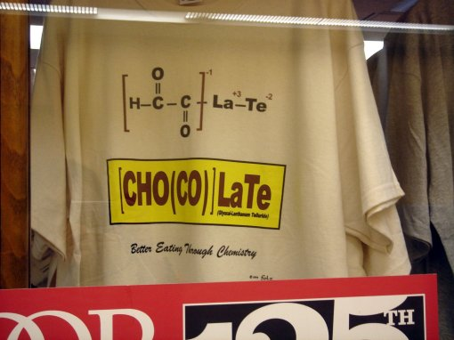 [(CHO)(CO)]LaTe T-shirt