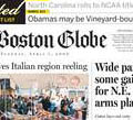 Blog rally supports Boston newspaper.
