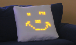 The pillow that smiles back.