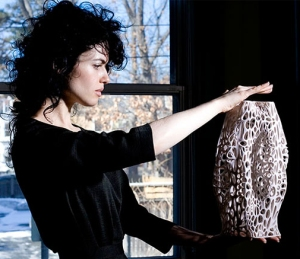 Neri Oxman creates 21st century materials based on natural structures.