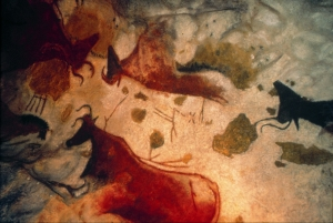 the artistry of prehistoric painters in the cave of Lascaux