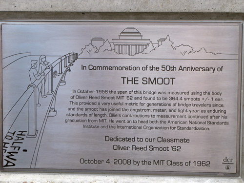 Smoot plaque unveiling