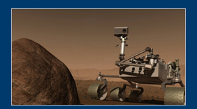 Artist Concept of the Mars Science Laboratory Rover. Image: NASA