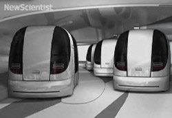 Robot chauffeurs at London's Heathrow airport. Learn more.