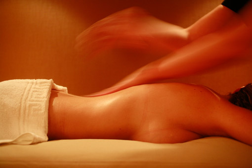 Massage at the Sofitel Thelassotherapy center in Quiberon, Brittany, France (© Owen Franken/photographed for the New York Times, July 7, 2008).