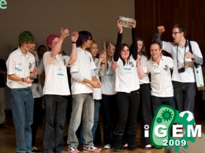 iGEM winners, a global group.