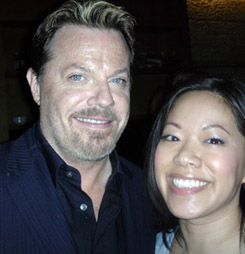 Eddie Izzard and Teresa Huang