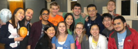 Leadershape students begin a yearlong experience.