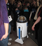 R2D2 at the 2010 MIT Mystery Hunt with team R2Disco
